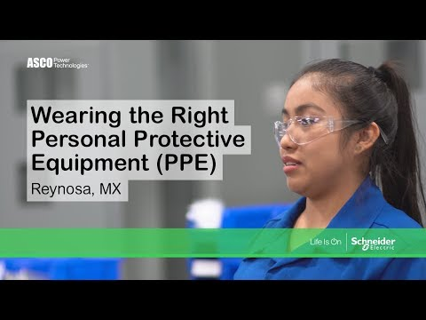 Safety Series - Wearing The Right Personal Protective Equipment (PPE)