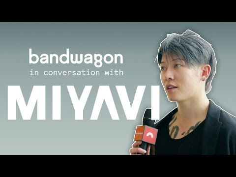 A conversation with Miyavi about his guitarplaying style, the Bleach live action movie and more