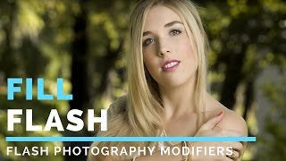 Outdoor Portrait Tutorial: Fill Flash Modifiers | dslr Digital Photography