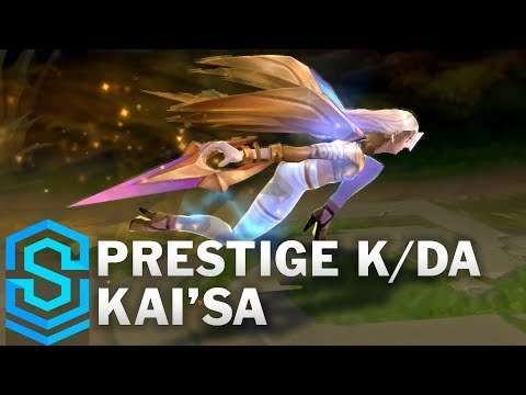 Prestige K/DA Kai'Sa Skin Spotlight - Pre-Release - League of Legends