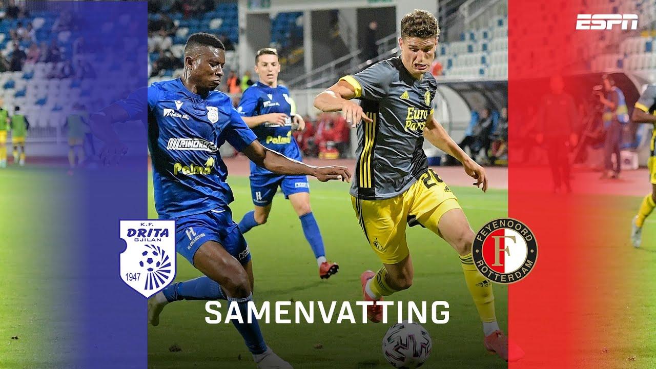 Feyenoord weet niet te winnen van FC Drita 😳   Samenvatting FC Drita - Feyenoord   Conference League
