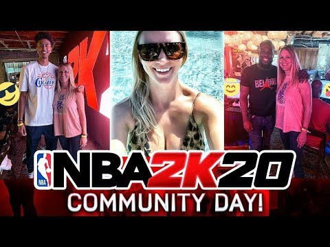 WE GOT FLOWN OUT TO LA FOR NBA 2K20 COMMUNITY DAY!!