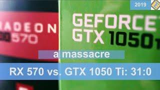 Radeon RX 570 vs. GeForce GTX 1050 Ti, Adrenalin 2019 Edition Driver Update Benchmark Test
