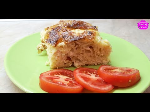 GUŽVARA pita sa sirom u par poteza - detaljno | kuhaj i peci