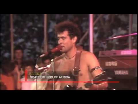 Savuka - Scatterlings Of Africa (Live at Concert In The Park)