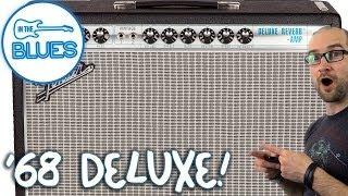 Fender '68 Custom Deluxe Reverb Amplifier Demo