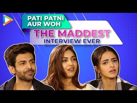 HOLD YOUR LAUGHTER - Kartik, Ananya & Bhumi's CRAZY Interview  Quiz, Rapid Fire & 5 Second Challenge Mp3