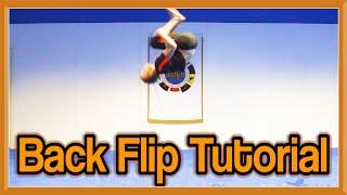Back Flip (Back Tuck) Tutorial | GNT How to