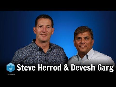 Steve Herrod, General Catalyst & Devesh Garg, Arrcus   CUBEConversation, July 2018
