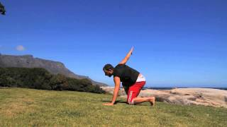 Fire Bending Form in Camps Bay