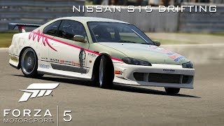 Xbox One | Forza Motorsport 5 | Nissan S15 Drifting with commentary