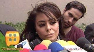 Yadhira Carrillo se mostró consternada por la muerte de su gran amiga Edith González.