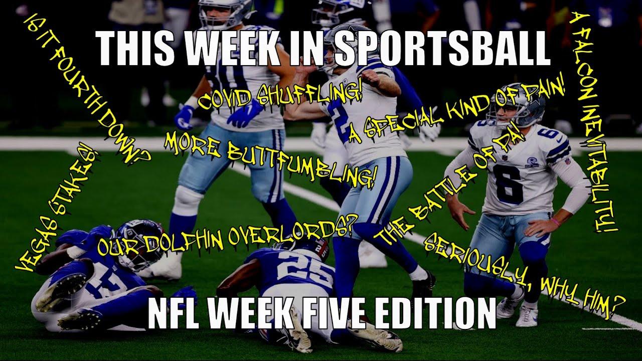 This Week in Sportsball: NFL Week Five Edition (2020)
