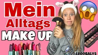 Mein ALLTAGS MAKE UP👄😱| LEOOBALYS