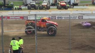 Monster Jam Stafford Springs, CT 2017 Saturday Afternoon: Freestyle Competition