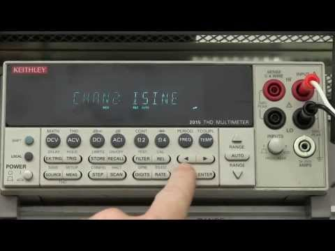 EEVblog #478 - Keithley 2015 THD Multimeter Teardown