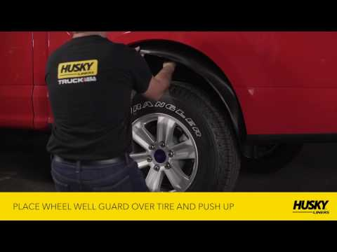 Husky Liners® Wheel Well Guard Ford F150 Installation Video