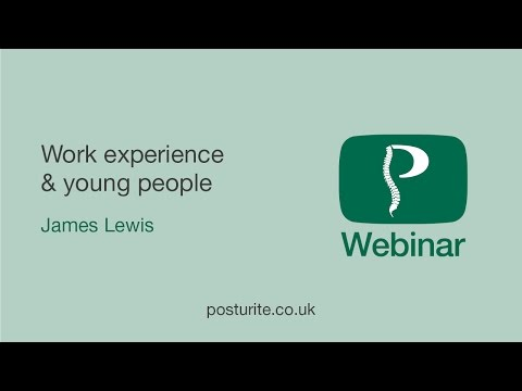 April Webinar: Work Experience and Young People, What do we need to do?