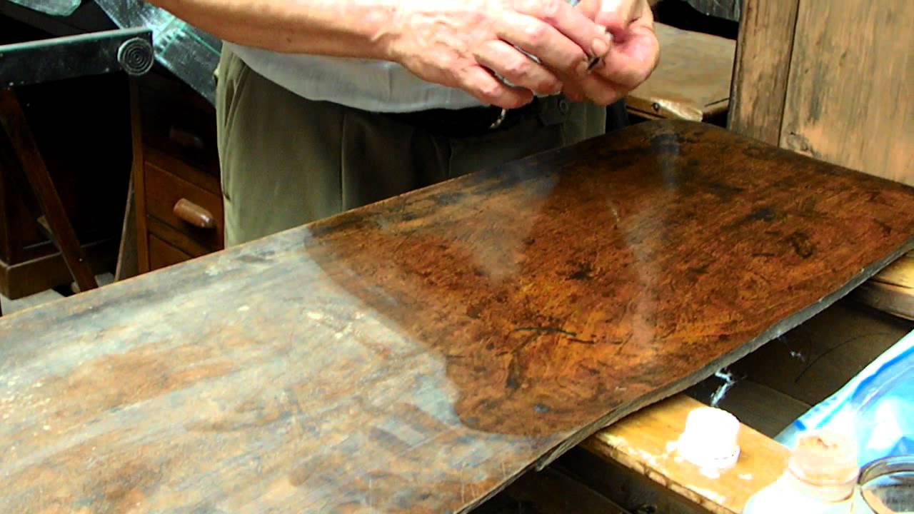 Balsamo amati lucidatura pulitura e restauro mobili parte 2 youtube - Restauro mobili impiallacciati ...