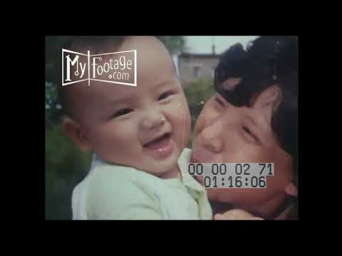 1970s The Flavor of Life in Shanghai Stock Footage HD