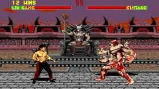 Mortal Kombat II (Genesis) - Longplay