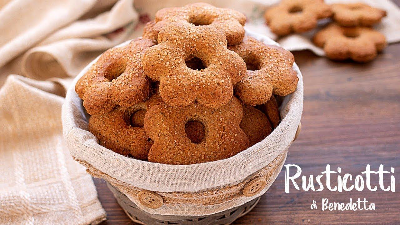 Rusticotti di benedetta ricetta facile biscotti integrali for Ricette on line