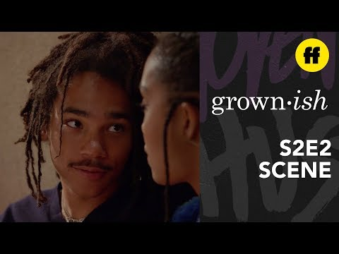 "Grown-ish Season 2, Episode 2 | Luca Says ""I Love You"" 