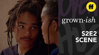 "grown-ish Season 2, Episode 2   Luca Says ""I Love You""   Freeform"