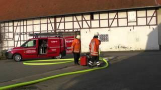 Das kleinste Feuerwehrauto Südniedersachsens
