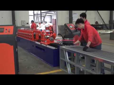 LM Light Gauge Steel Stud And Track Roll Forming Machine with Punching Holes
