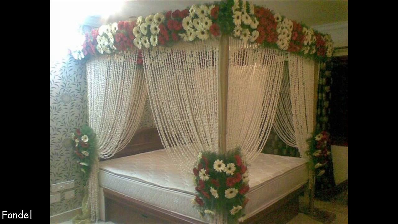Beautiful Bridal Wedding Bedroom Decoration Youtube