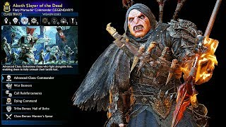 SHADOW OF WAR - UNIQUE SLAYER OF THE DEAD OVERLORD DIFFICULTY NEMESIS IN DESERT
