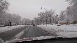 дороги Оттавы   зимняя сказка