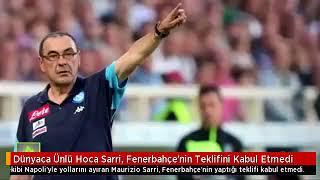 Dünyaca Ünlü Hoca Sarri, Fenerbahçe