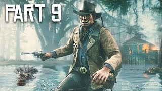 Red Dead Redemption 2 Gameplay Walkthrough, Part 9 - New Camp! (RDR 2 PS4 Pro Gameplay)