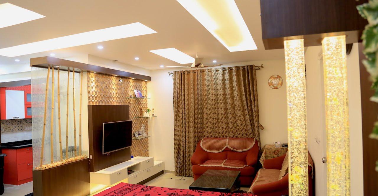 Mr K Narasimha Murthy S House Interior Design Dlf New