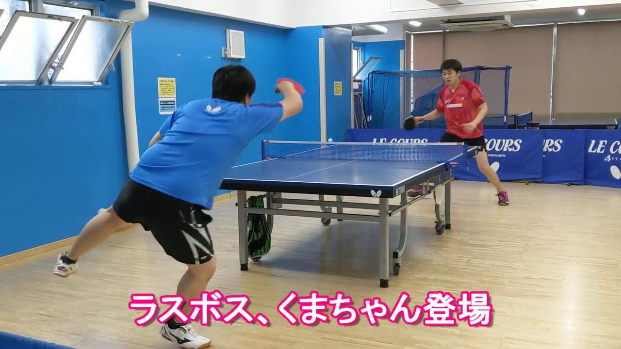 久々に、チームの練習会【卓球・Table Tennis】