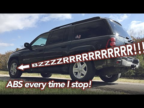 Brake pedal buzz at stops - ABS kicks on at stops - Cleaning Wheel Speed Sensors - GM Truck