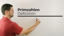 Primzahlen, Definition | Mathe by Daniel Jung