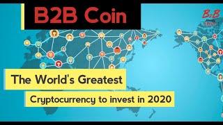 B2B NEWS Ep.No.5: New Cryptocurrency - B2B Coin. Balance. Reinvesting.