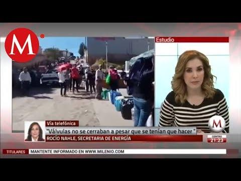 Entrevista a Rocío Nahle sobre robo de combustible en Pemex