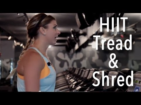 FIT | Barry's Bootcamp Inspired HIIT Treadmill Workout