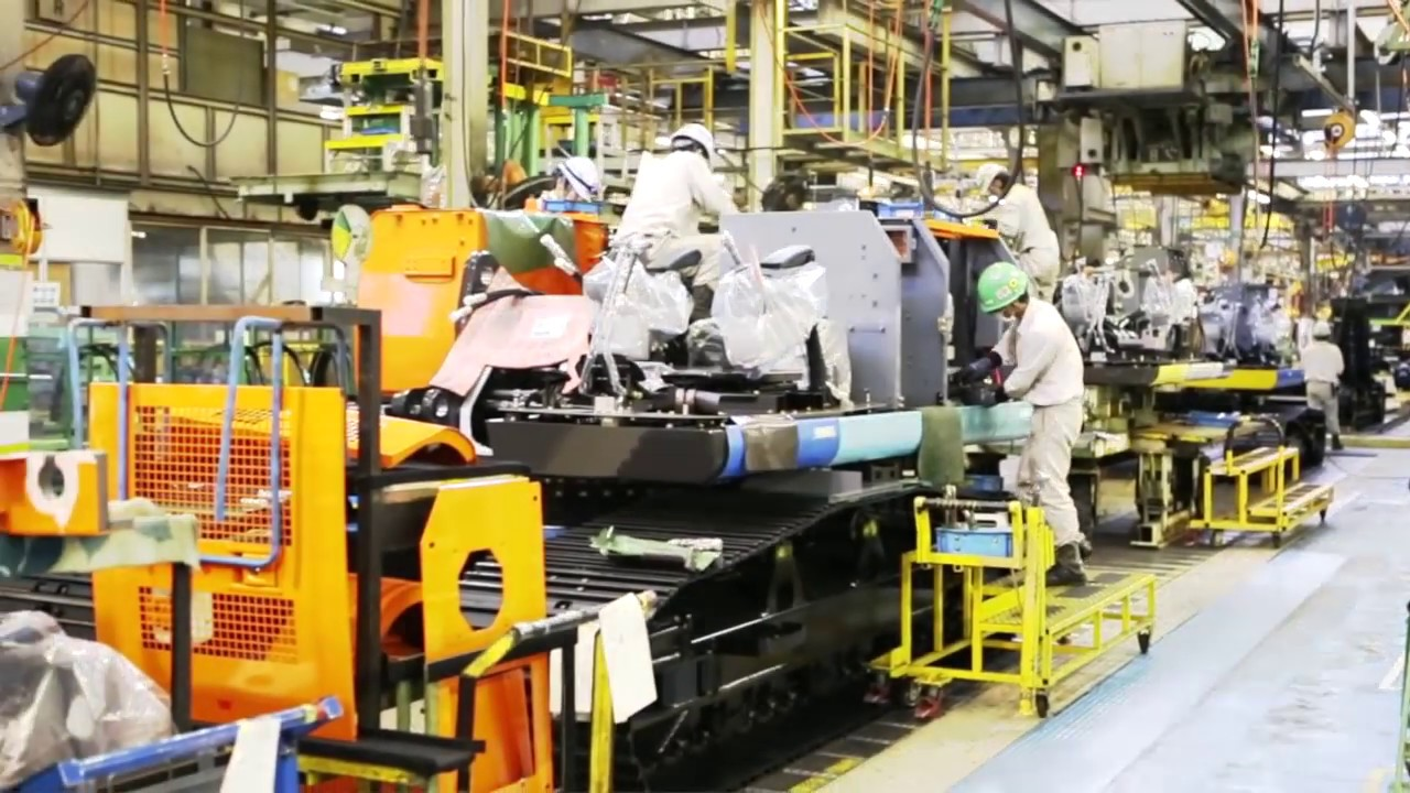 Hitachi Construction Machinery Factory
