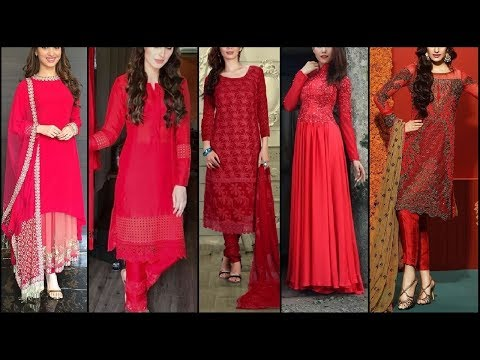 All Red Dress Design | Red Hot Dresses Collection(Kurti,suit,palazoo)|Red dress for party
