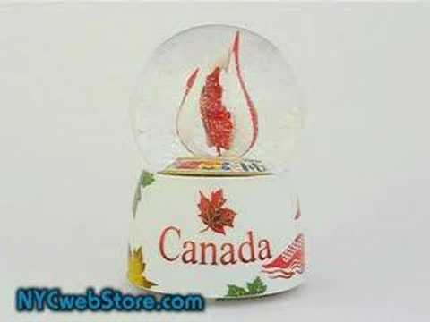Canadian Snow Globe