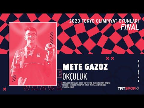 🏹 Mete Gazoz'un Tokyo 2020'deki Final Mücadelesinin Tamamı | Tokyo 2020 Olimpiyatları