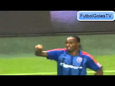 First Goal of Didier Drogba in Shenhua Shanghai