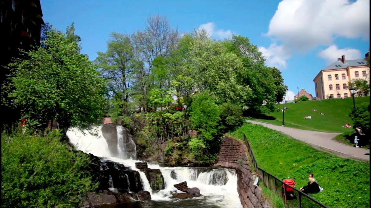 Recommended stops on a walk along Akerselva