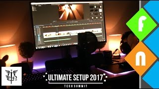 My Ultimate Editing & Gaming Set Up of 2017 - Behind The Scenes!