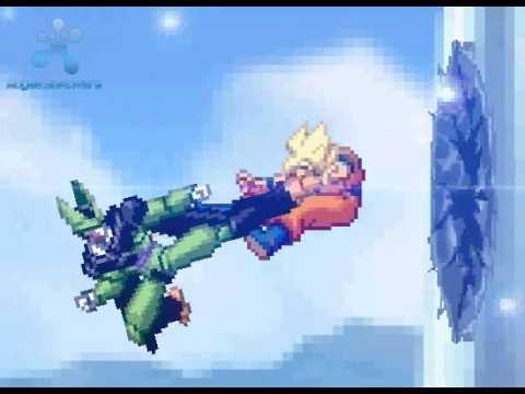 Dbz Goku Vs Cell Youtube